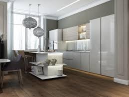 Modern Kitchen Shelves Design Modern Island Kitchen Open Shelving Interior Design Ideas