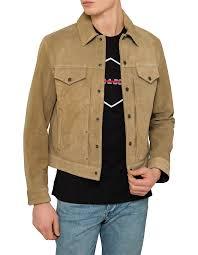 Designer Suede Jacket Suede Trucker Jacket