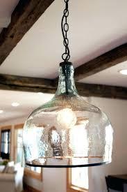 seeded glass pendant new lighting oversized pottery barn lights throughout seeded glass pendant light remodel shades