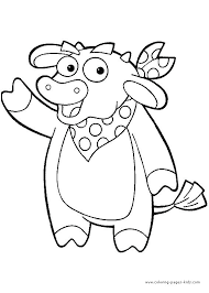 Coloring Games Dora Color Pages Coloring Pages And The Explorer