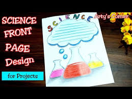 Chemistry Cover Page Designs Chemistry Border Design For Science Project Assignment