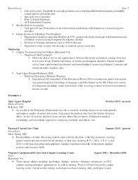 Urgent Care Resume Sample