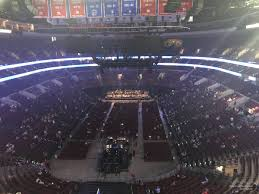 Wells Fargo Center End Stage Seating Chart Wells Fargo Center Section 207a Concert Seating