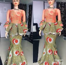 Blouse Design For Youngsters 2019 Ankara Skirt Blouse Are Very Popular Among Youngsters