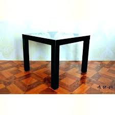 coffee table rounded corners rounded corner end table with