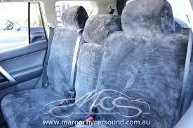 sheepskin car seat covers melbourne series custom made