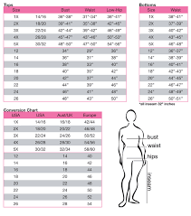 60 Expository Womens Juniors Size Conversion Chart