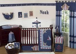 Sweet Jojo Designs Nautical Nights Collection 11-Piece Baby Crib Bedding Set