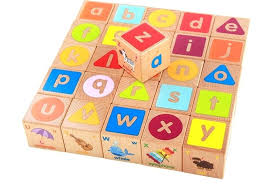 large abc wooden blocks oversized