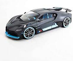 Special edition 2018 bugatti divo gray scale 1:24 model car diecast toy car. Amazon Com Bugatti Divo Matt Gray With Blue Accents 1 18 Diecast Model Car By Bburago 11045 Toys Games