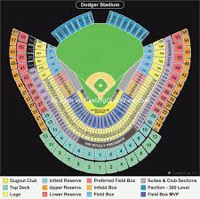 Expert Dodger Seating Chart View Dodger Stadium Seating