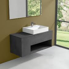 bathroom cabinet with countertop