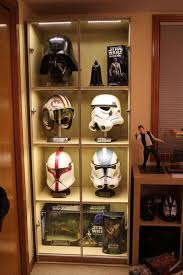 Stormtrooper Helmet Display Stand Delectable 32 Splendid DIY Display Cases Design To Make A Cozy Room Matko