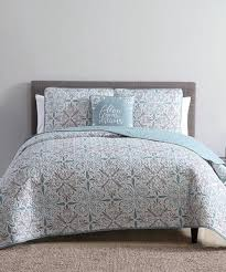 Quilts, Bedspreads & Coverlets & S.L. Home Fashions | Gray & Jade Melodie Quilt Set Adamdwight.com