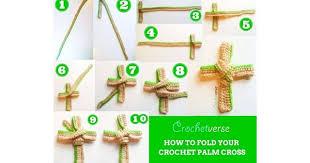 Crochet Cross Pattern Unique Free Crochet Palm Cross Pattern Praise Him
