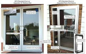 commercial glass entry doors parts exterior