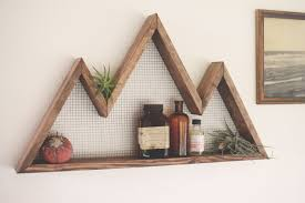Mountain Decor Accessories Mountain Wall Art Shelf Mountain Home Decor wall hanging 40
