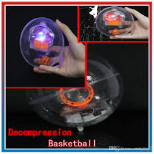 novelty desktop toys environmental protection ps handheld basketball machine led light handheld basketball shooting decompression toys desk stress