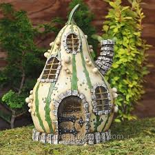fairy homes and gardens.  Fairy Fiddlehead Striped Gourd Fairy Home  Where To Buy Miniature And  Garden Houses U2013 Part To Homes And Gardens