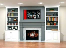 built in bookshelves built in bookcases around fireplace plans ideas built cabinets around fireplace