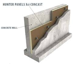 Hunter Xci Concast Wall Panel General Insulation