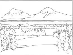Small Picture Mountain Coloring Page Coloring Home
