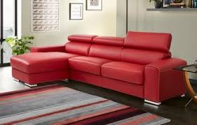 red sofa bed. Simple Bed GXD Kalamos Left Hand Facing 3 Seater Storage Chaise Sofabed Sierra Contrast In Red Sofa Bed I