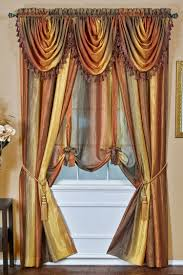 ombre semi sheer curtains autumn