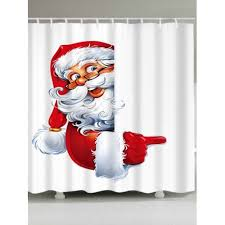 printed polyester waterproof shower curtain 18 83 free gearbest com