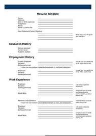printable cv template free 20 best free resume examples images cv template sample resume