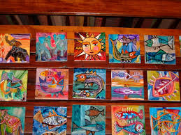 hand painted tiles photos