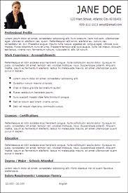 Resumes, resume examples, Curriculum Vitae