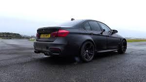 matte black bmw m3. Brilliant Matte Matte Black BMW F80 M3 W Armytrix Valvetronic Exhaust  Revs WOT Launch  Control YouTube For Bmw 7