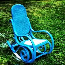 recycle repurpose rocking chair