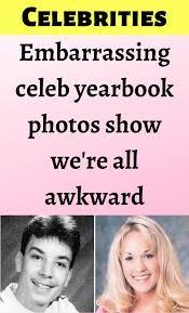 Celebrities weren't always hot and their embarrassing yearbook photos prove  that in 2020 | Yearbook photos, Celebrity yearbook photos, Yearbook