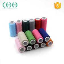 Factory Price Polyester Fibre Sewing Thread For Embroidery