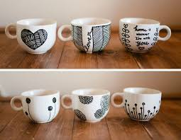Don't Mind if I Do: DIY: Personalized Mugs (aka Sharpie Mugs