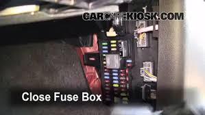 interior fuse box location ford f ford f  interior fuse box location 2009 2014 ford f 150 2009 ford f 150 xlt 5 4l v8 flexfuel crew cab pickup 4 door