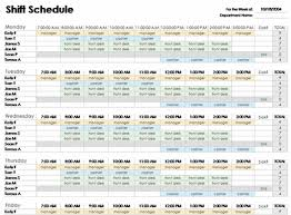 employee schedules templates download excel employee schedule template employee