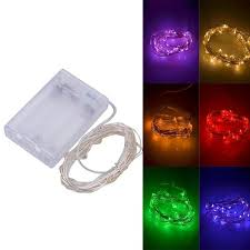 picture of battery operated led fairy string lights