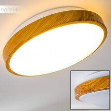Sora Wood ceiling lamp LED light wood, white H168449