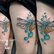 Vodovka černobílá Tetování Tattoo