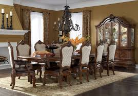 Tuscano Melange Trestle Dining Room Set By Michael Amini  AICO - Aico dining room set