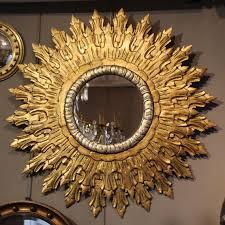 sun mirror wall mirror sunburst mirror