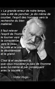 Citation Victor Hugo Grand écrivains Français Du Xixème Siècle