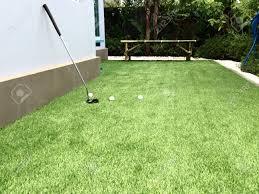 Home Golf Course Design Home Golf Course Architecture Design Of Grass Field Around Home