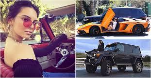 Reality television series keeping up with the kardashians. 15 Sick Pics Of Kendall And Kylie Jenner S Cars Hotcars