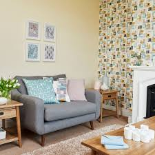 Wallpaper Living Room Clever Designs For Alcoves Ideal Home