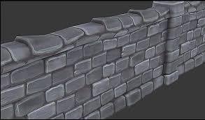 painted stone wallpainted stone wall 3d max