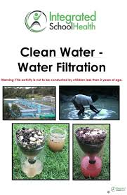homemade water filter science project. Homemade Water Filter Science Project Diy .